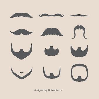Bigotes y barbas