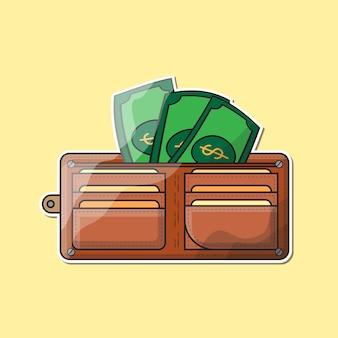 Billetera y dinero