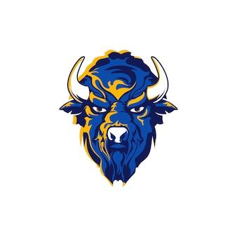 Bisonte azul