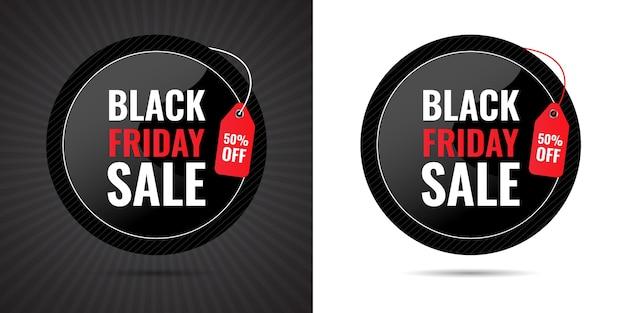 Black friday big 3d sale oferta especial por tiempo limitado porcentaje de descuento banner para mega venta y diseño de etiqueta de precio para publicación en redes sociales premium