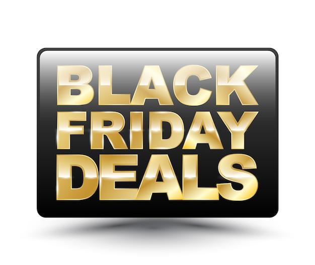 Black friday deals square tag