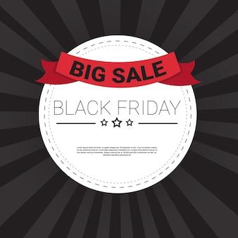 Black friday sale holiday shopping banner espacio en blanco