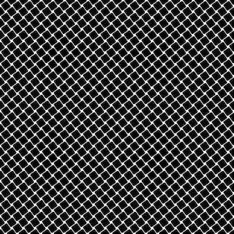 Blanco y negro patrón cuadrado - vector de fondo geométrico