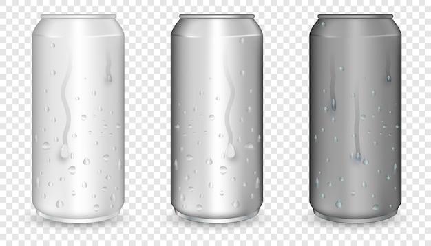 El blanco puede imitarse con gotas de condensación.