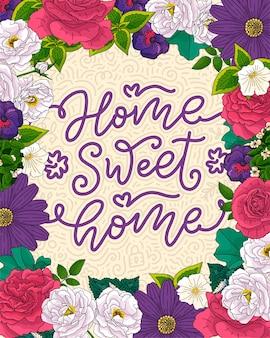 Boceto de banner con lema divertido para el diseño de concepto