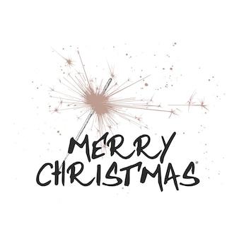 Boceto dibujado a mano vacaciones de navidad y año nuevo