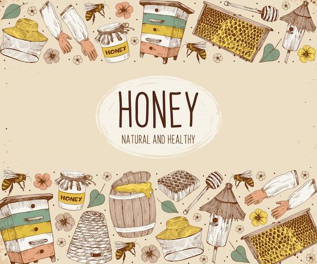 Bocetos de apicultura