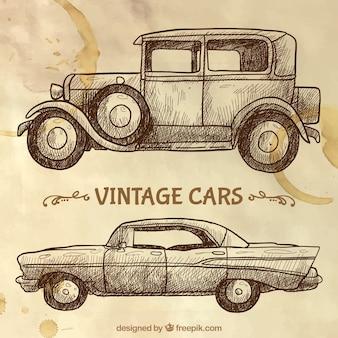 Bocetos de coches vintage