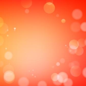 Bokeh abstracto brilla sobre fondo borroso