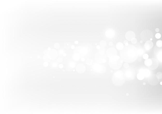 Bokeh abstracto luces con fondo de luz suave.