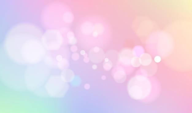 Bokeh pastel