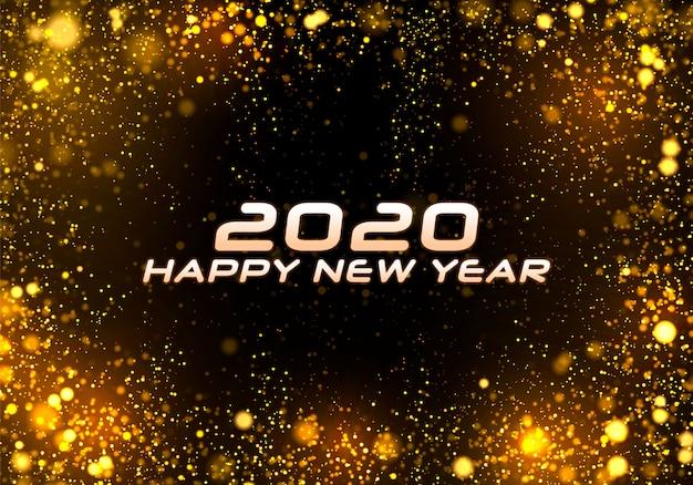 Bokeh sparkle christmas 2020, festivo
