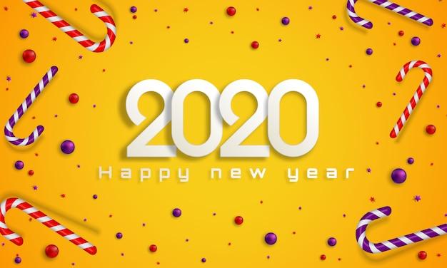 Bokeh sparkle navidad 2020 fondo, luces de año nuevo.