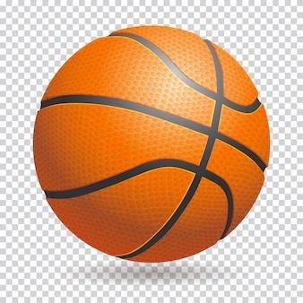 Bola aislada baloncesto 3d