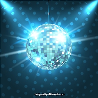 Bola brillante de disco