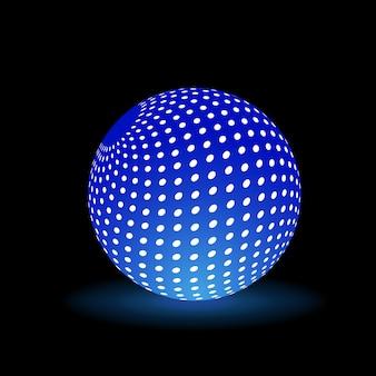 Bola de luz digital