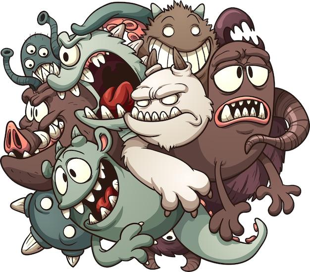 Bola de monstruos