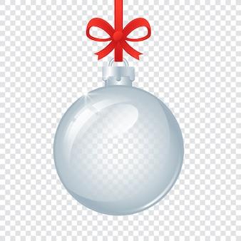 Bola de navidad de cristal