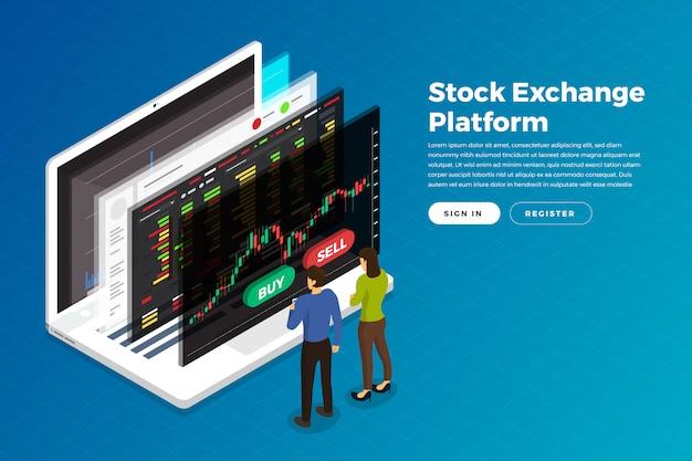 Bolsa de comercio de acciones
