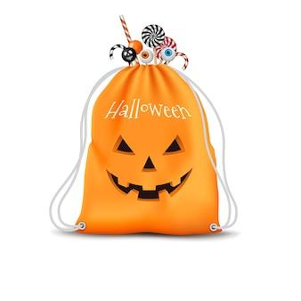 Bolsa de halloween realista
