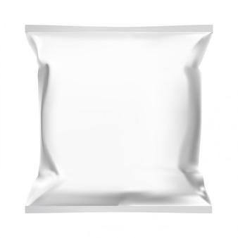 Bolsa de merienda, plantilla de bolsa de comida