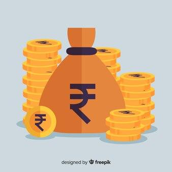 Bolsa de rupias indias
