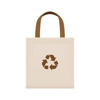 Bolsas ecológicas de tela en blanco o bolsas de tela de hilo de algodón