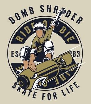 La bomba trituradora de skate
