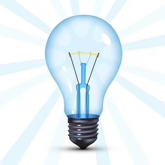 Bombilla de luz de tungsteno