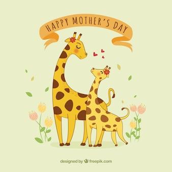 Bonito fondo del día de la madre