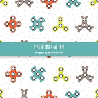 Bonito patrón de spinners