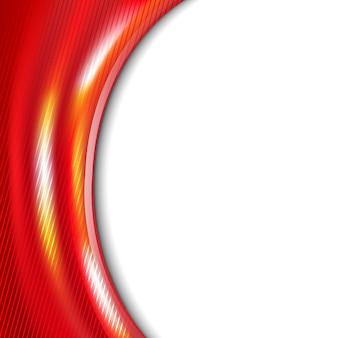 Borde de colores rojo.