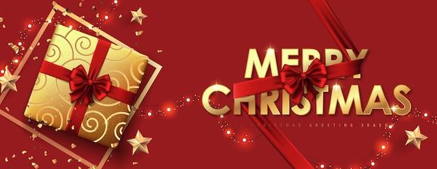 Borde decorativo de navidad de fondo de elementos festivos.