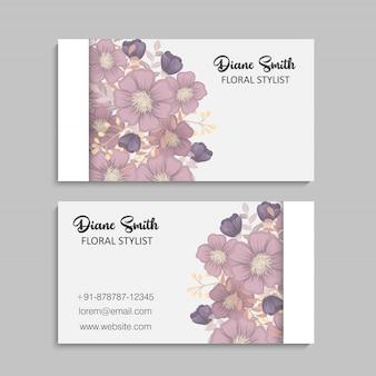 Borde floral de fondo - borde de flor rosa