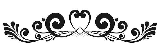 Bordes caligráficos decorativos vintage. señalización de plantilla, logotipos, etiquetas, pegatinas, tarjetas. elementos de diseño clásico para tarjetas de felicitación, diplomas, certificados y premios. página de diseño gráfico.