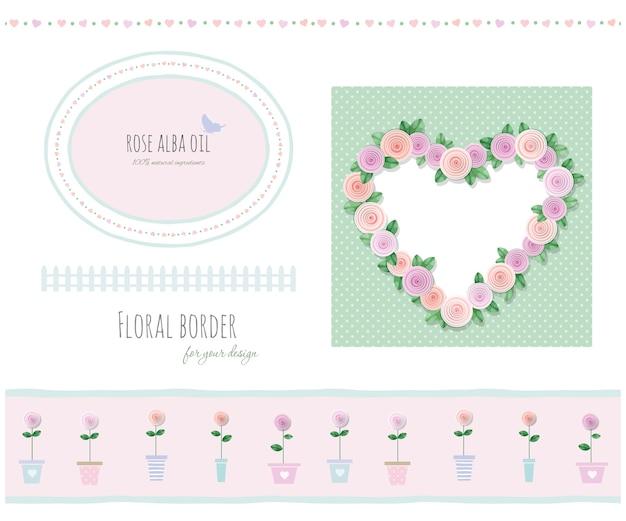 Bordes florales
