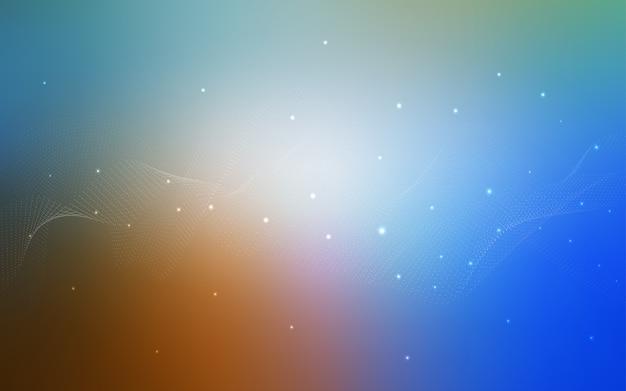 Borrosas burbujas sobre fondo abstracto