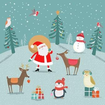 Bosque de navidad