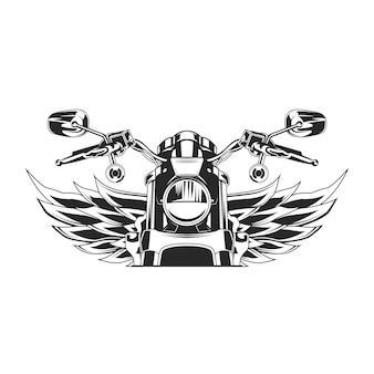 Bosquejo, moto, ilustración
