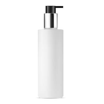 Botella cosmética de la bomba