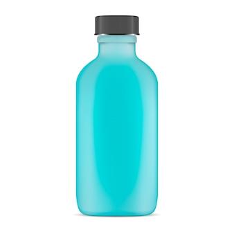 Botella cosmética de vidrio