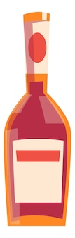 Botella original para bebida alcohólica