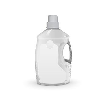 Botella de plástico de aceite de cocina