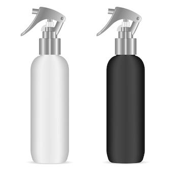 Botella de spray con pistola pulverizadora para cosméticos