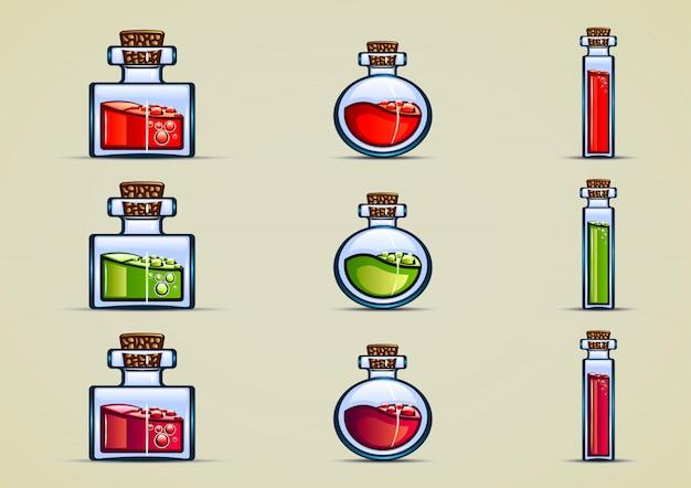 Botellas de pocion