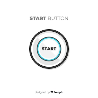 Botón moderno de start