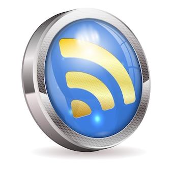 Botón de noticias rss feed
