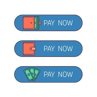 Botón de pago web