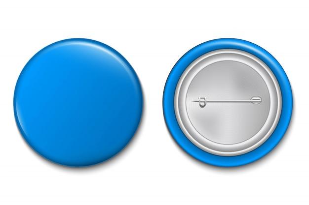 Botón de pin 3d