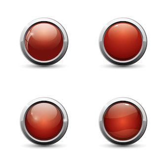 Botones para juegos móviles. diseño de juegos de interfaz de usuario.